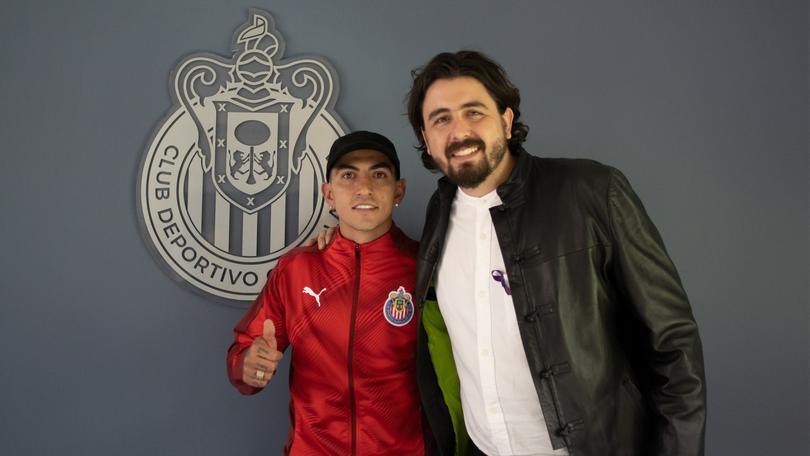 Así recibieron a Víctor Guzmán en Chivas
