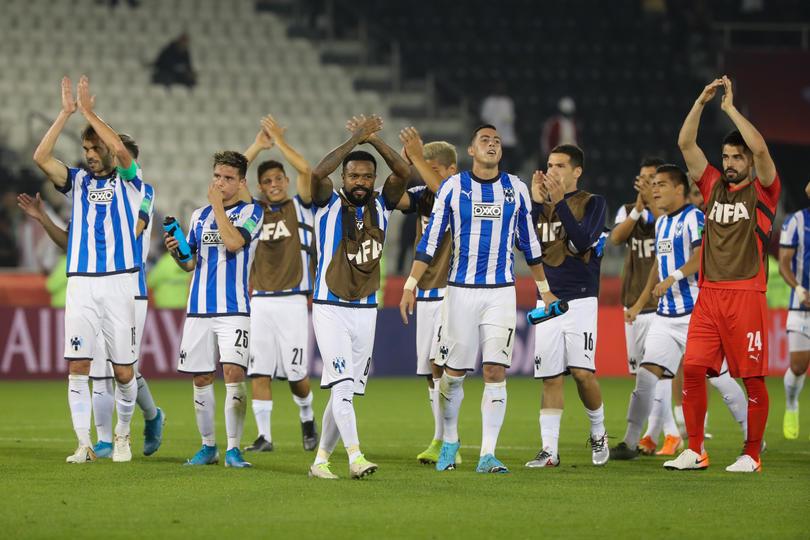 Rayados celebra su victoria ante Al-Saad