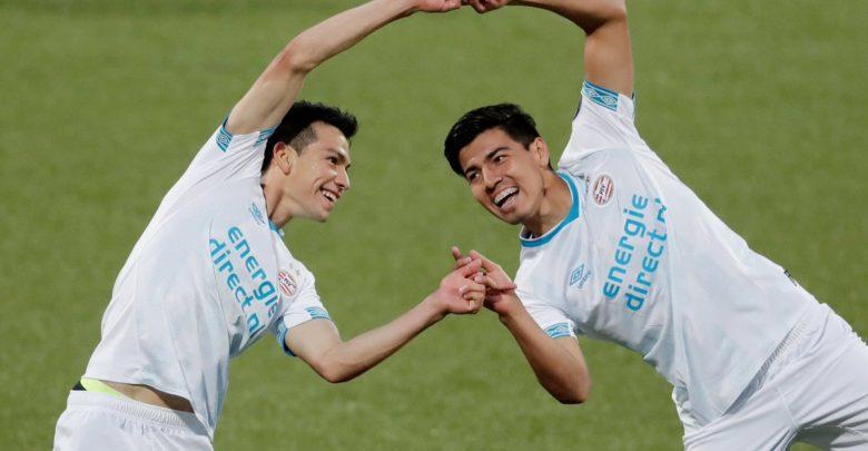 El dúo de mexicanos seguía haciendo de las suyas en el PSV