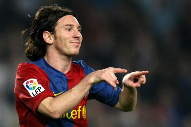 En 2007, Messi se rifó su primer hat-trick contra el Real Madrid