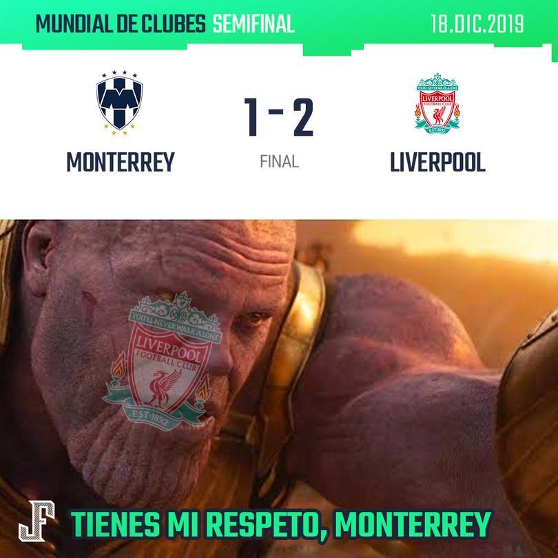 Monterrey 1-2 Liverpool
