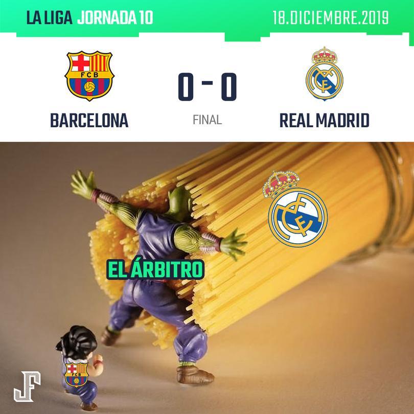 Empate a ceros en el Barcelona vs Real Madrid
