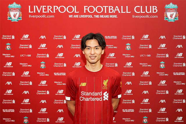 Liverpool fichó a Minamino