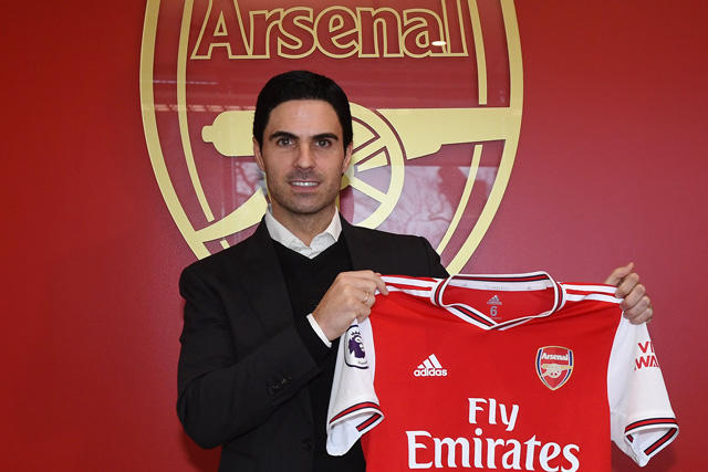 Mikel Arteta es nuevo técnico del Arsenal