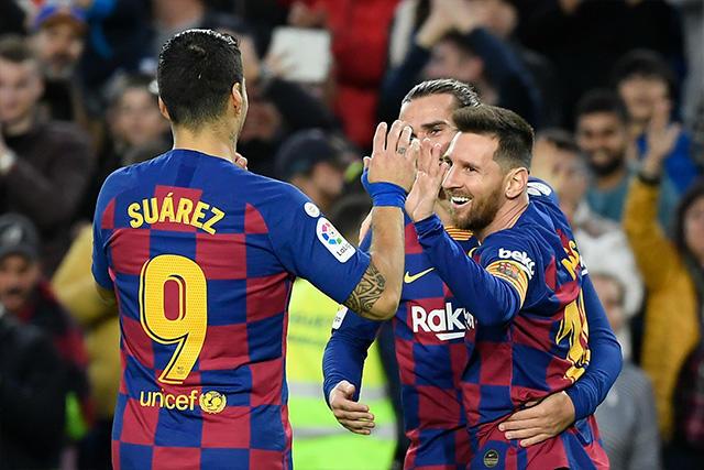 Messi y el Barcelona lograron marcas legendarias
