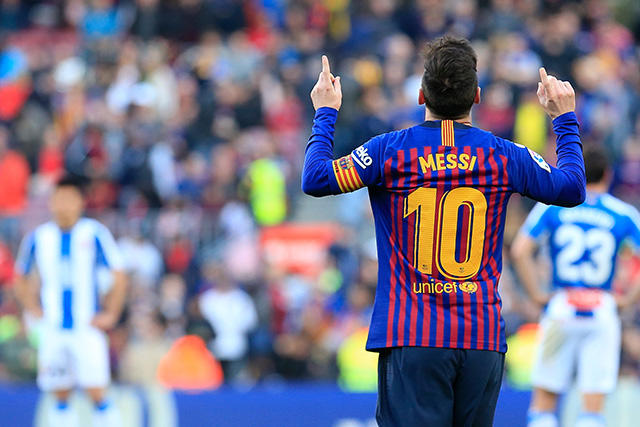 El Espanyol es el equipo español que más goles de tiro libre de Messi ha recibido