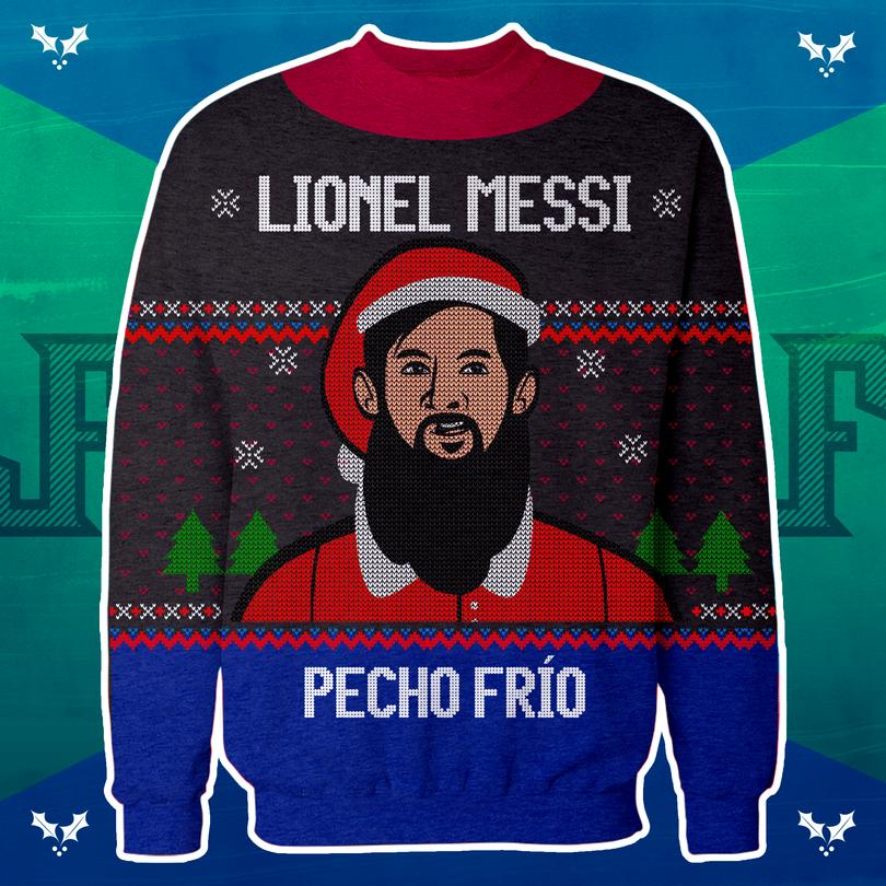 Ugly Sweater de Messi