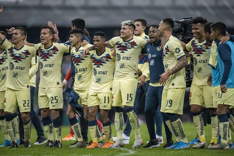 El 11 con el que América jugaría la final de ida ante Rayados