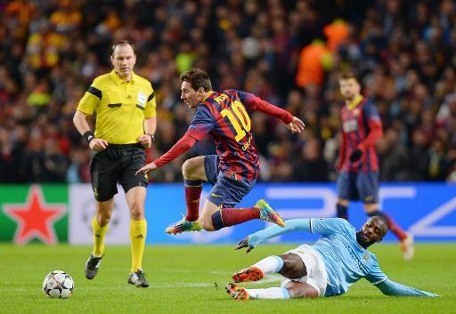Lionel Messi vs Yaya Touré