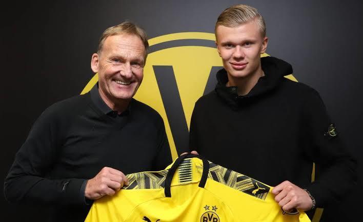Haland ficho por el Borussia Dortmund