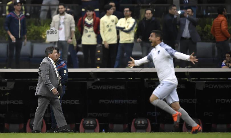 Piojo Herrera en la final vs Monterrey