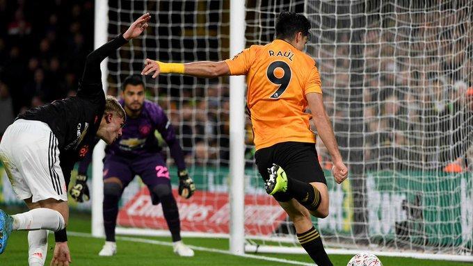 Jimenez jugo ´45 minutos en el duelo ante el United