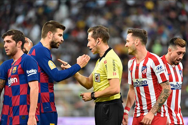 Atlético venció 3-2 al Barcelona en un partido protagonizado por el VAR