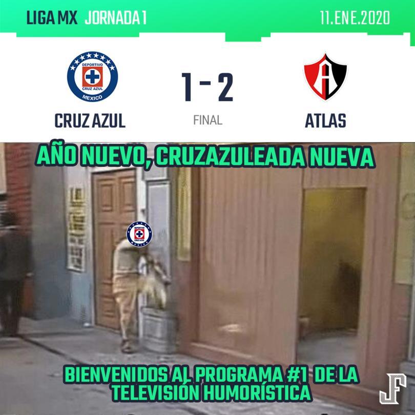 Cruz Azul empezó ganando con un golazo de Elías Hernández. La expulsión de Orbelín al 30' despertó al Atlas, que empató con un gol del debutante Ángel Márquez y, en los último 5 minutos, Jeraldino consumó la cruzazuleada.