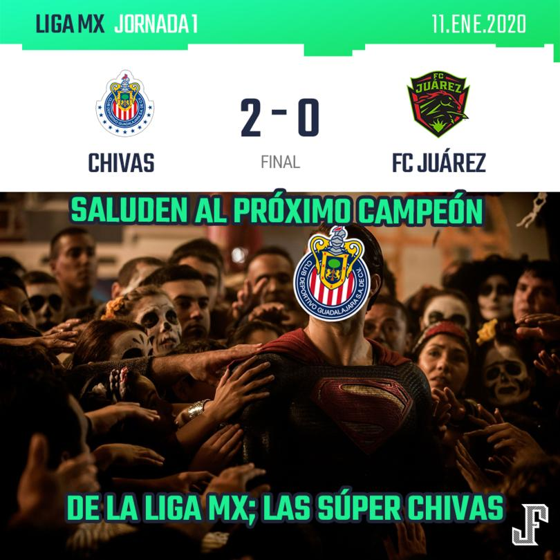 Con goles de Alexis Vega y JJ Macías, el Rebaño venció fácilmente a Juárez en Guadalajara.