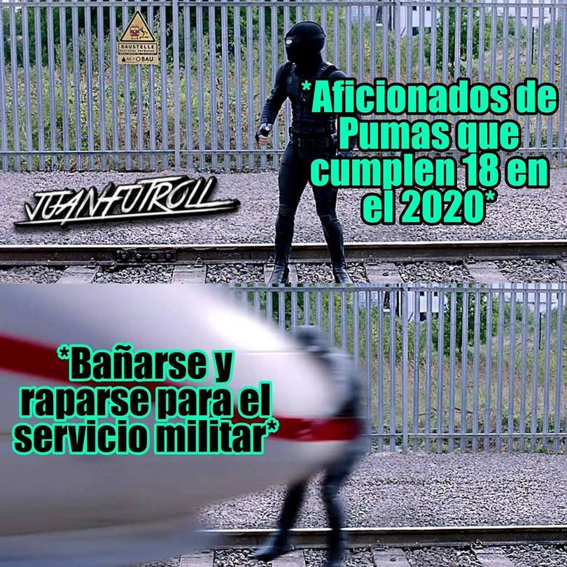 Los mejores memes del triunfo de Pumas ante Pachuca