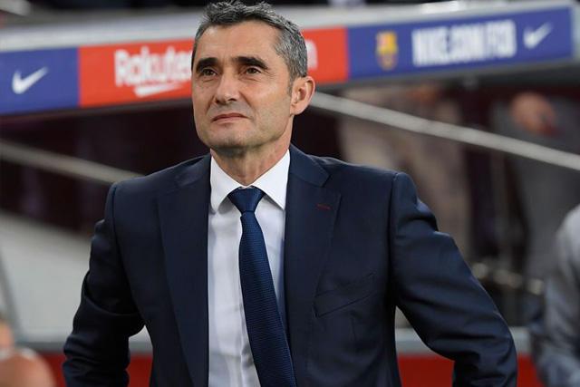 Ernesto Valverde fue cesado del banquillo del Barcelona
