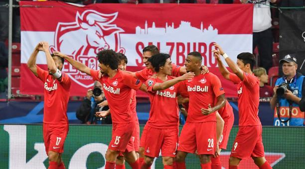 El RB Salzburg amplio dominador en Austria