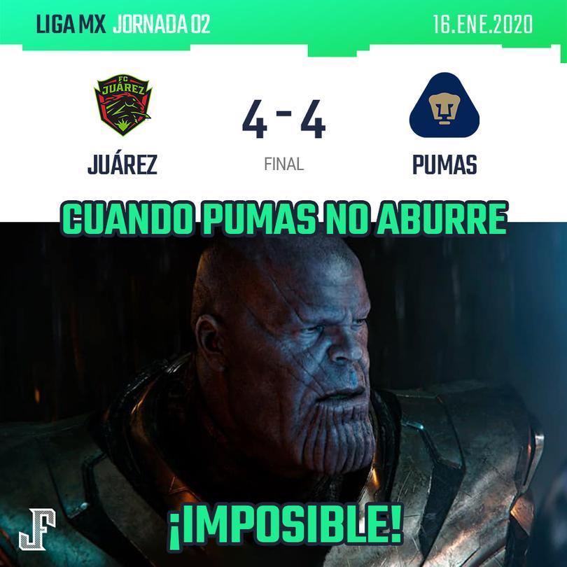 Juárez vs Pumas