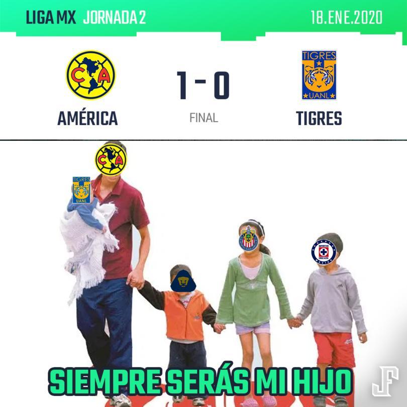 Con gol solitario de Henry Martín, el América debutó con victoria en el Clausura 2020.