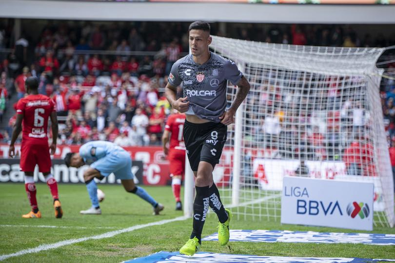 Mauro Quiroga le dio el triunfo a Necaxa ante Toluca