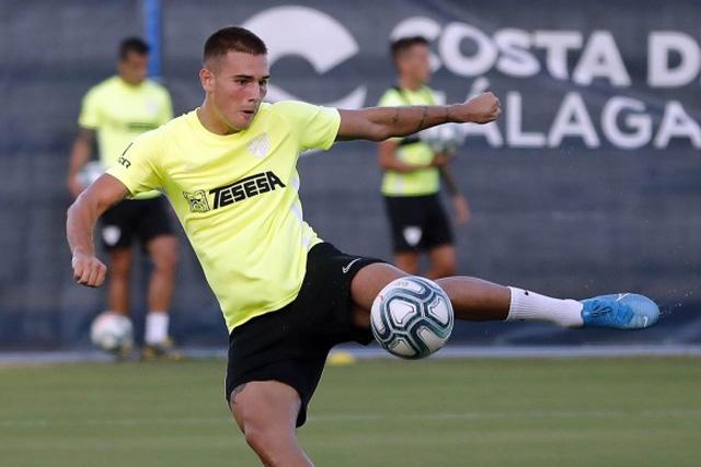 Hugo Vallejo deja al Málaga para llegar al Real Madrid