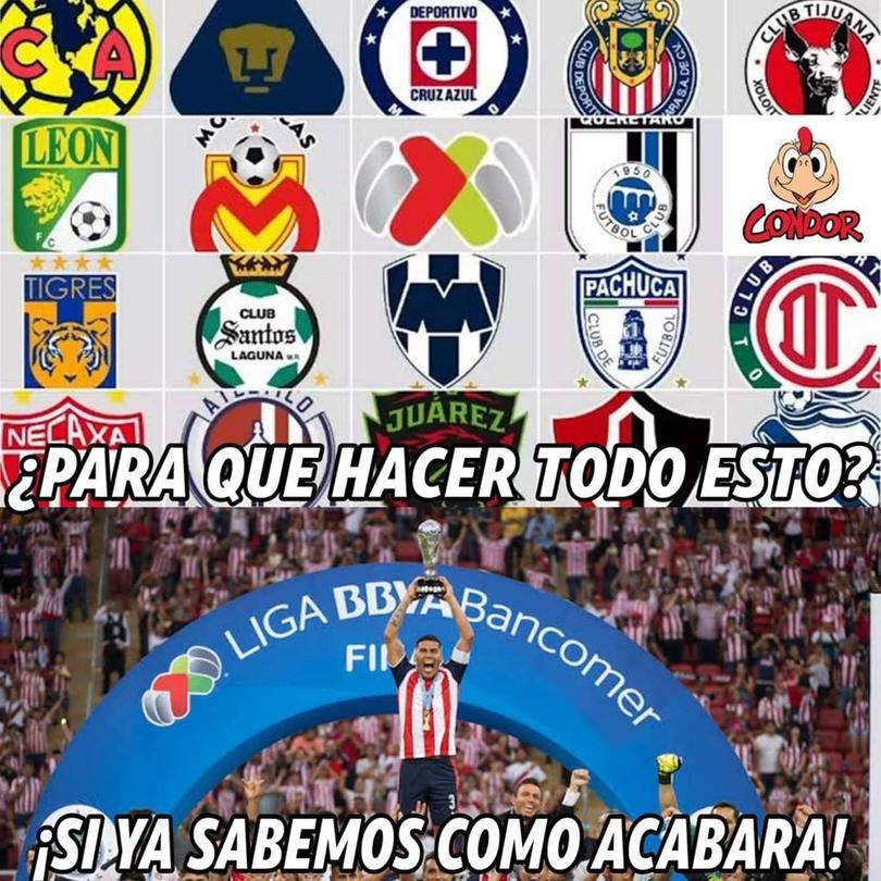 Los memes del Chivas vs Toluca