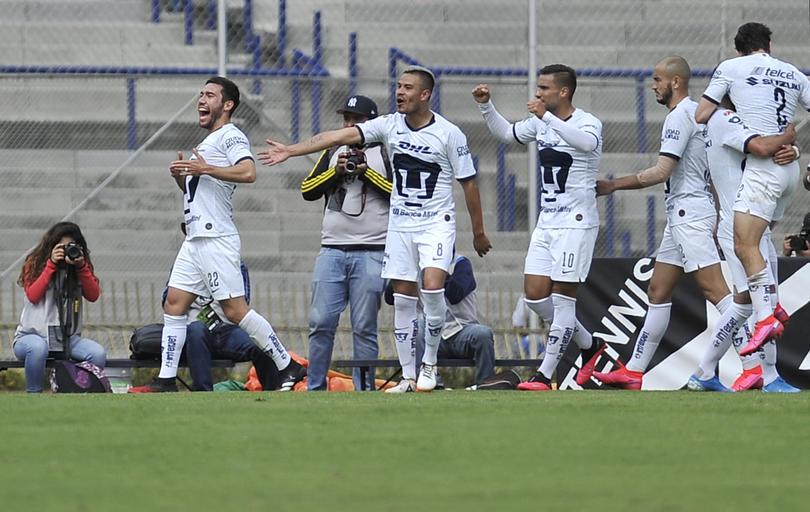 Vigón marcó el gol con el que Pumas venció a Monterrey