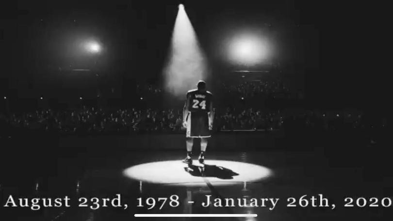 Kobe Bryant fue homenajeado con un minuto de silencio en el Pepsi Center