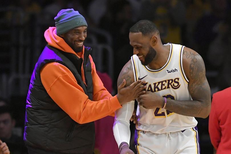 Kobe y LeBron