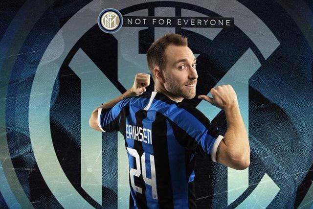 Christian Eriksen es nuevo jugador del Inter