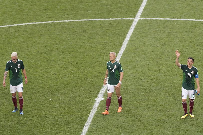 México eliminado ante Brasil, en el Mundial anterior
