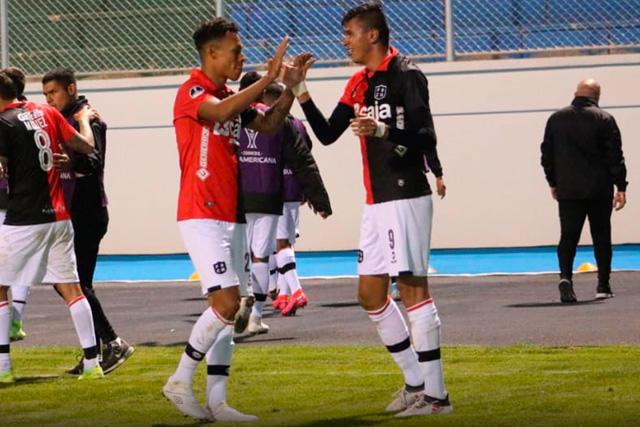 El mexicano Othoniel Arce puso el 2-0 del Melgar en la Sudamericana