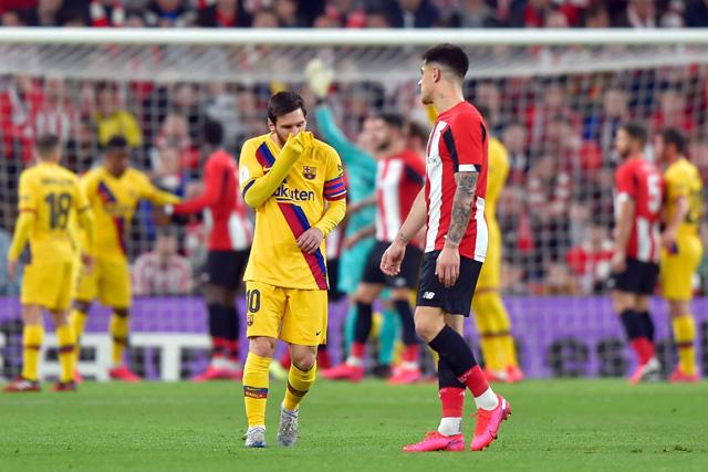 Lionel Messi falló una clara que pudo cambiar el rumbo del partido