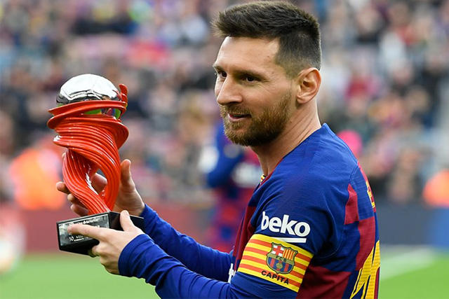 Lionel Messi es el futbolista con el mejor sueldo, 8.3 millones de euros al mes