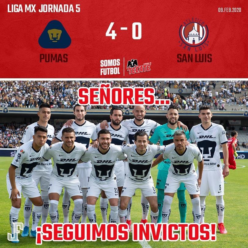 Pumas vs Atlético San Luis