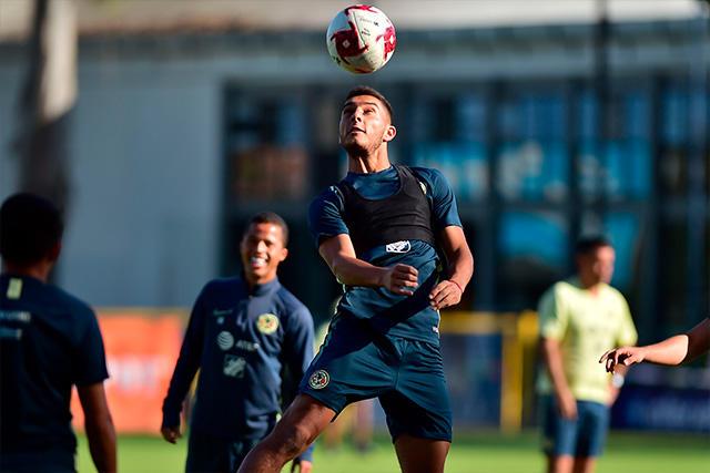 Los jugadores uruguayos se unieron a los entrenamientos del América