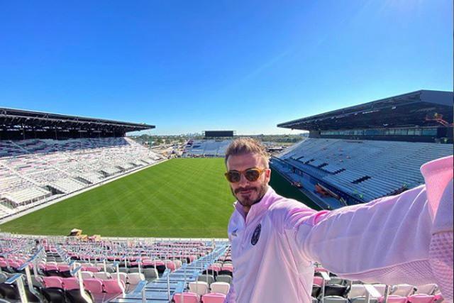 David Beckham es dueño y jefe de operaciones del Inter Miami