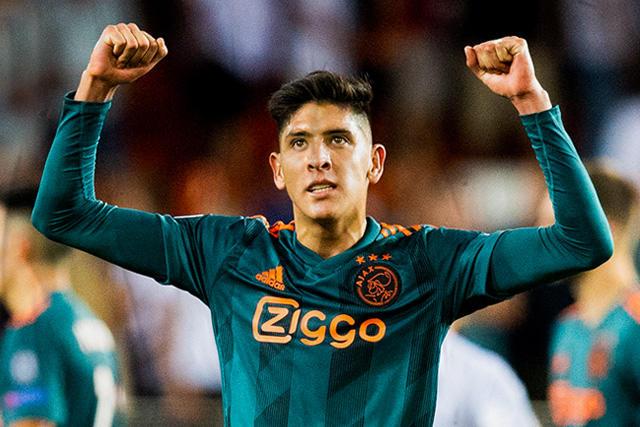 Edson Álvarez feliz de regresar a la titularidad tras semanas difíciles en Holanda