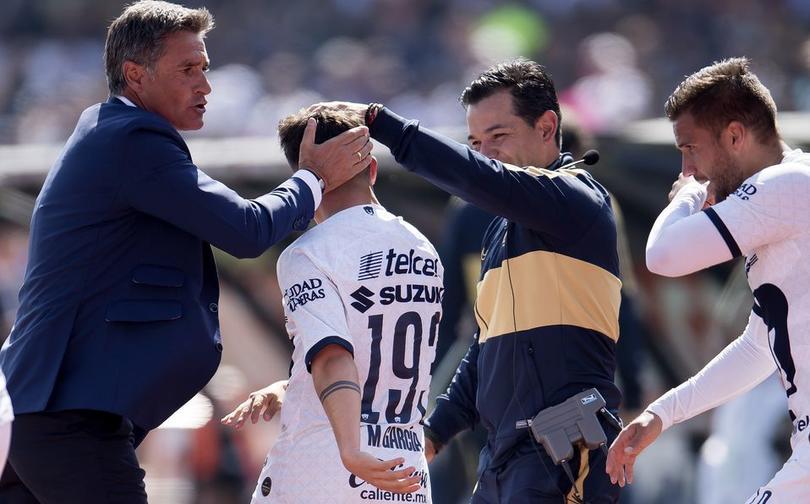 Marco García tras anotarle a Pachuca