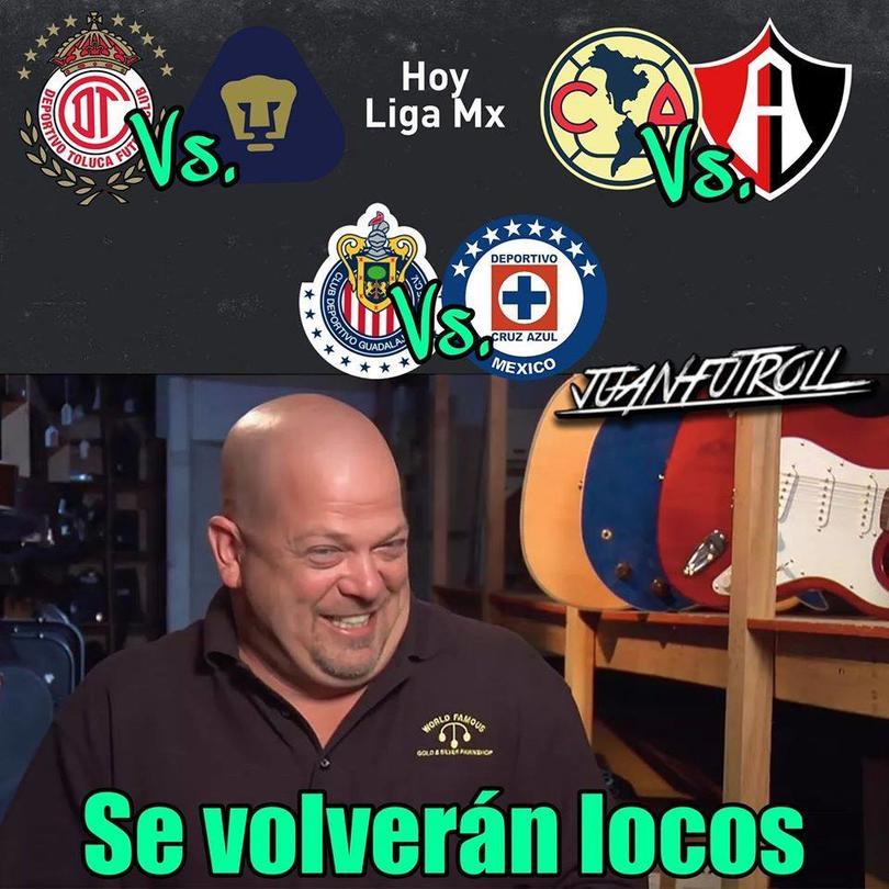 Los mejores memes del Chivas vs Cruz Azul