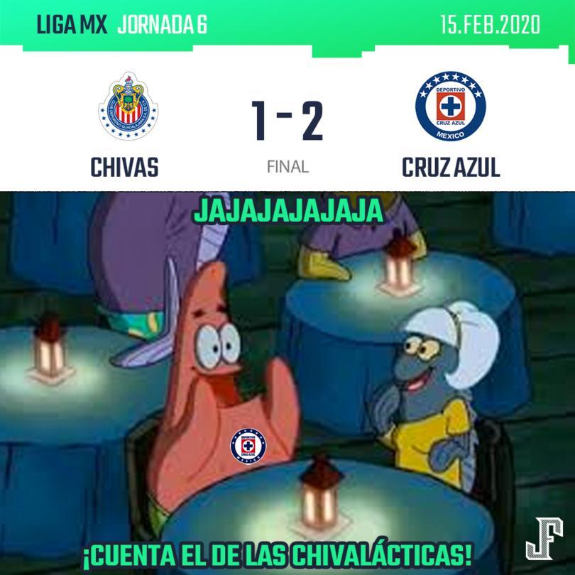 Con goles del Cabecita Rodríguez y Aldrete, Cruz Azul sacó la victoria en Guadalajara