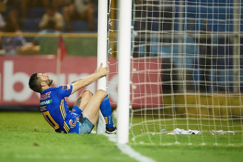 Andre-Pierre Gignac durante el partido contra Alianza