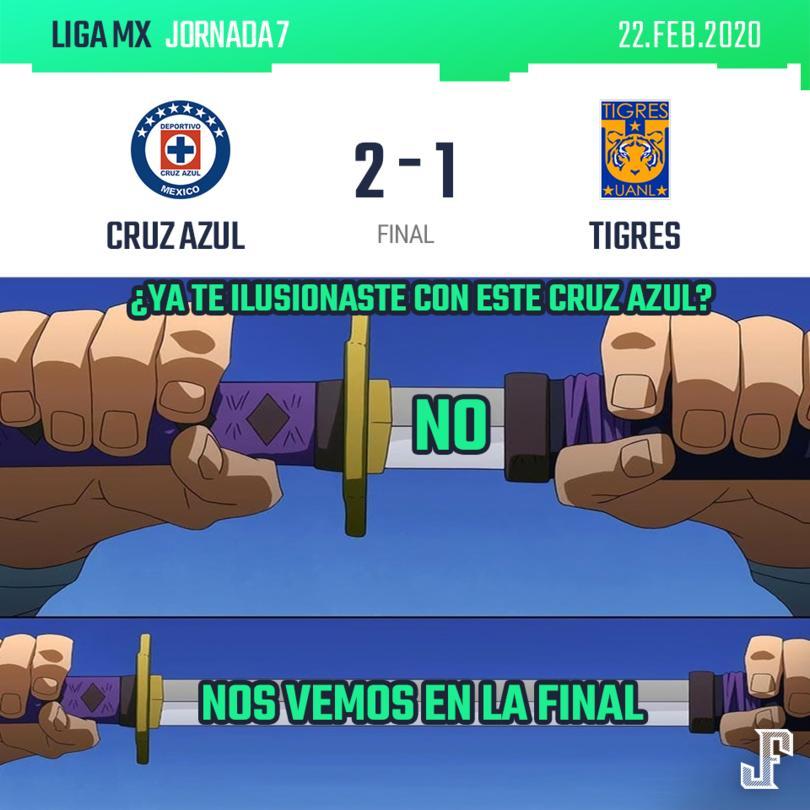 Cruz Azul llegó a cinco partidos sin perder en la Liga MX