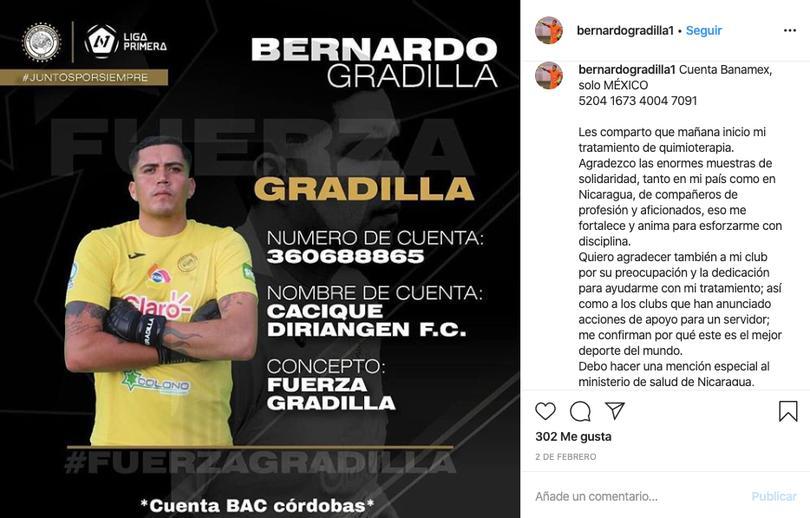 Mensaje de Bernardo Gradilla
