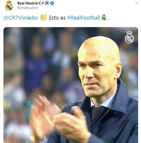 Real Madrid hackeado