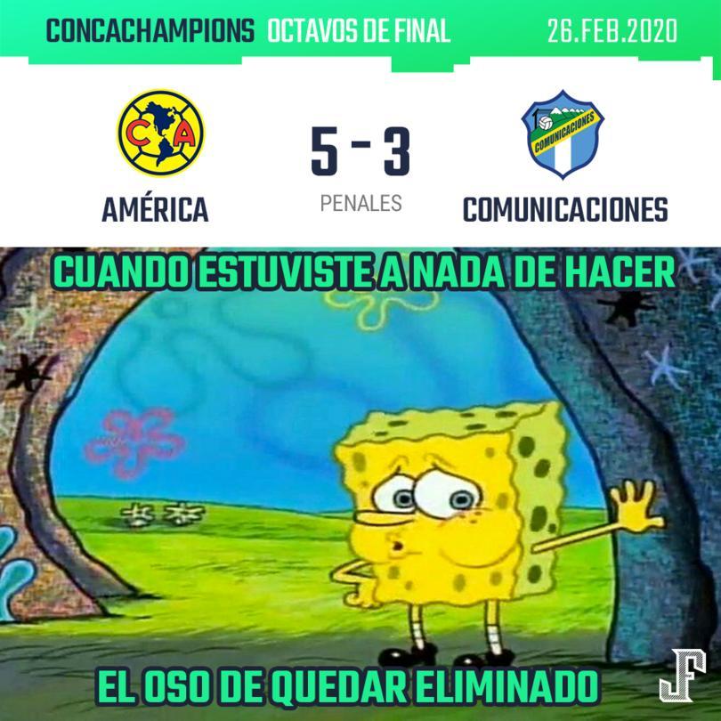 América no pudo vencer al Comunicaciones de Guatemala en los 180 minutos (empataron 2-2 en el global) y tuvieron que llegar a los penales para lograr su pase a cuartos de final.