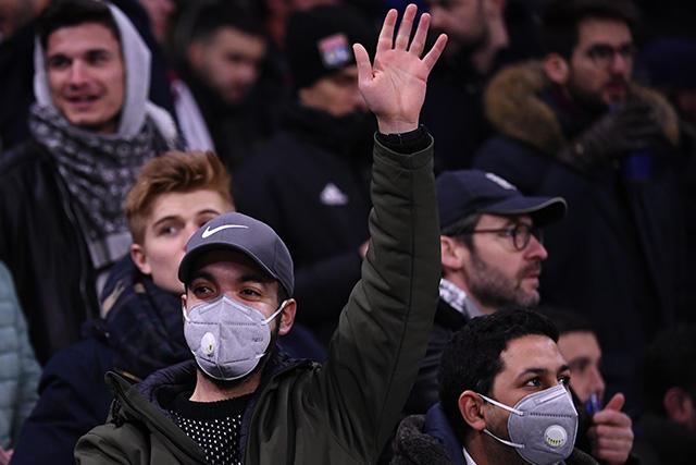 El coronavirus dejó su primer contagio en la Champions League