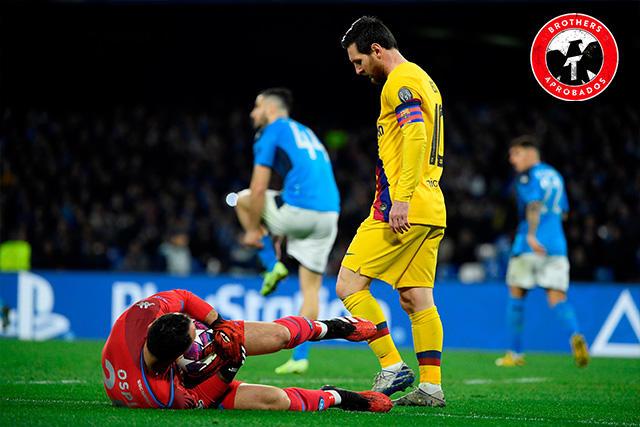 Lionel Messi y David Ospina
