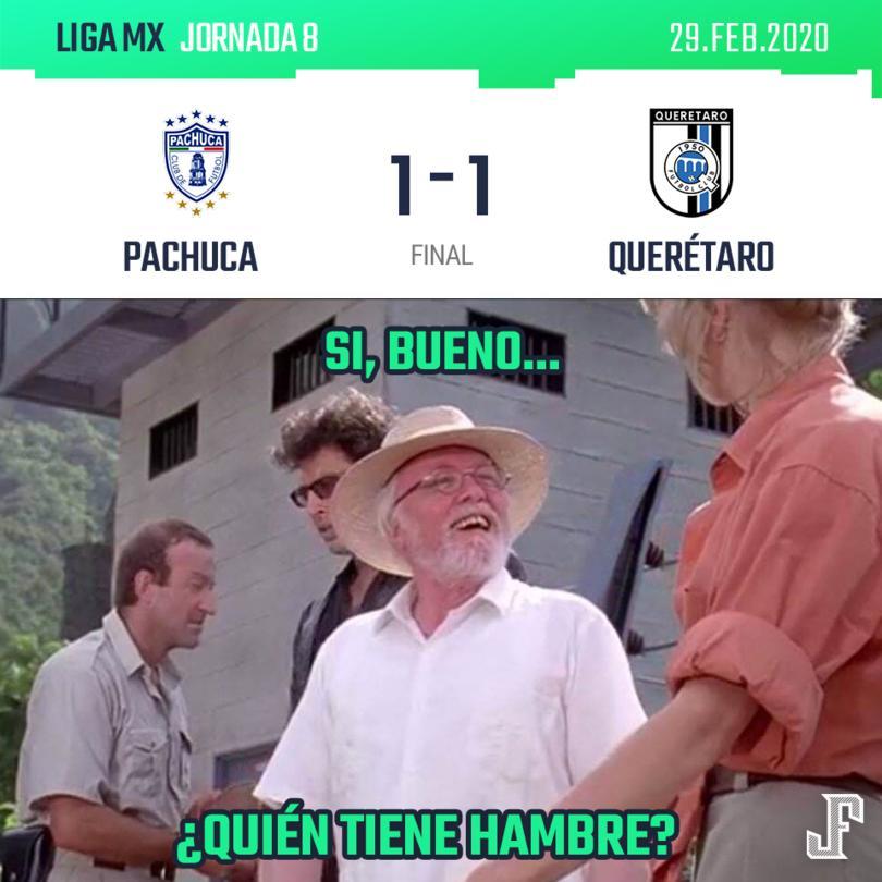 Querétaro rescató el empate de último minuto en Pachuca